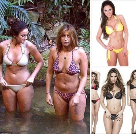 Row Row Row Your Boat Vicky Arlidge by I M A Celebrity S Vicky Pattison And Ferne Mccann Share A