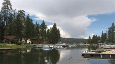 Big Bear Lake Rentals With Boat Dock by Big Bear Lake California Waterfront Home Guest Or