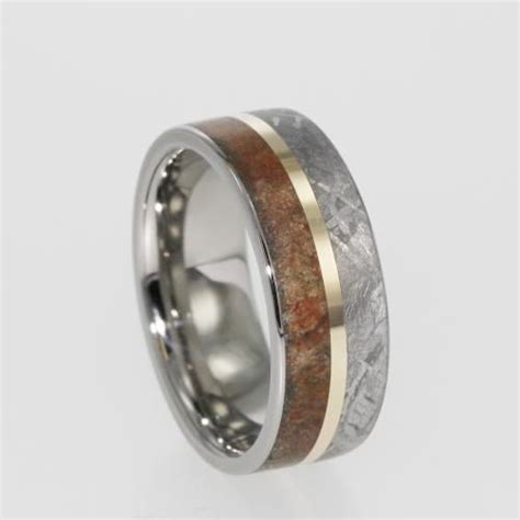 Jewelry By Johan, Dinosaur Fossil And Meteorite Ring. East West Rings. Famous Designer Engagement Rings. Pakistan Man Wedding Rings. Nature Themed Wedding Rings. Multi Stone Wedding Rings. Word Engraved Wedding Rings. 24 Carat Rings. Name Birthstone Rings
