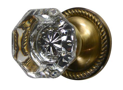 antique brass door knobs octagon door knob georgian roped plate antique brass