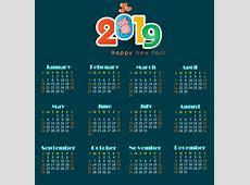 2017 2018 2019 calendar free vector download 1,594 Free