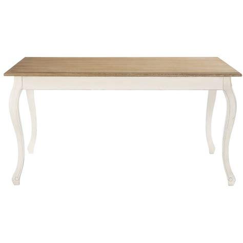 table de salle 224 manger en bois l 160 cm l 233 ontine maisons du monde