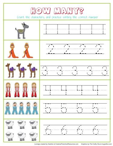 Christmas Prek Pack  Creative Preschool Resources