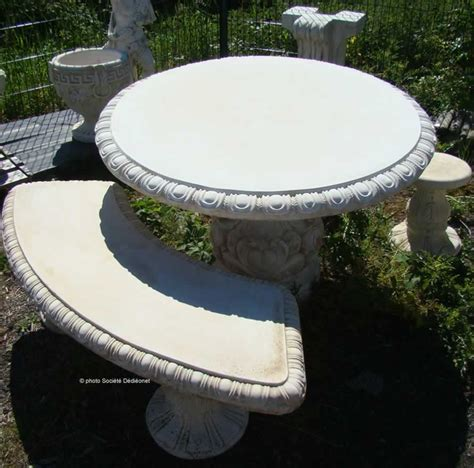 table de jardin en