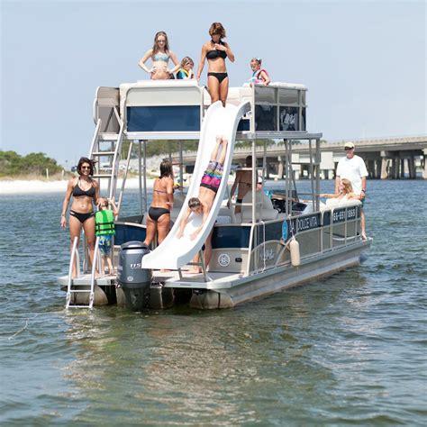 Destin Party Boat Rentals by Destin Pontoon Rentals