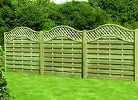 decorative fence panels Garden Fences And Gates Patio Tropical With Garden Fence ...
