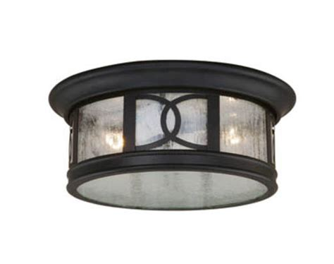 sterling 2 light 12 quot forged bronze outdoor ceiling light at menards 174