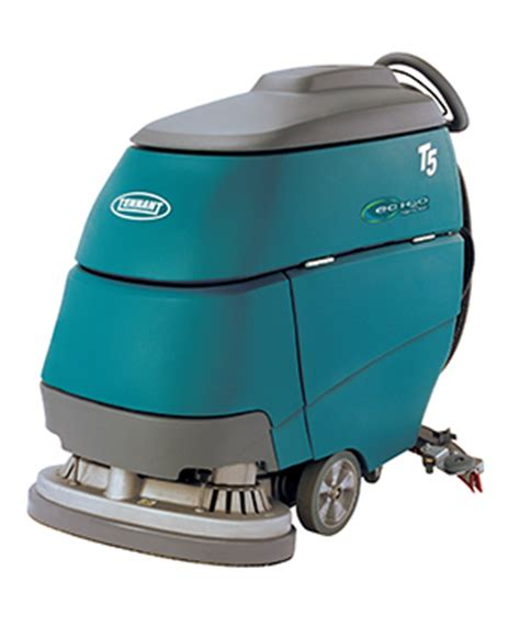tennant t5 walk floor scrubber 8