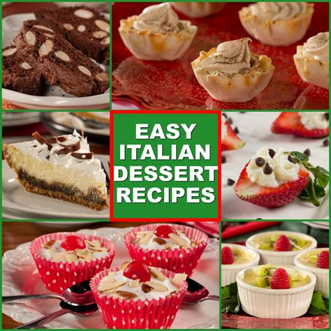 10 easy italian desserts everydaydiabeticrecipes