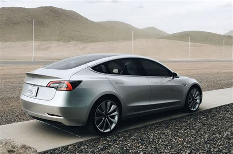 2018 Tesla Model 3  Tail Light  Car Preview And Rumors