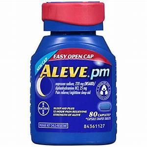 Discount: Aleve PM Easy Open Cap Caplets, 80 Count