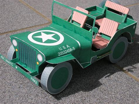 Jeep Willys 1944 Paper Model