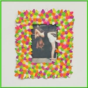 Fotorahmen Selbst Gestalten : diy bastelideen mit pfiff bastelidee bilderrahmen mit modelliermasse gestalten basteln ~ Markanthonyermac.com Haus und Dekorationen