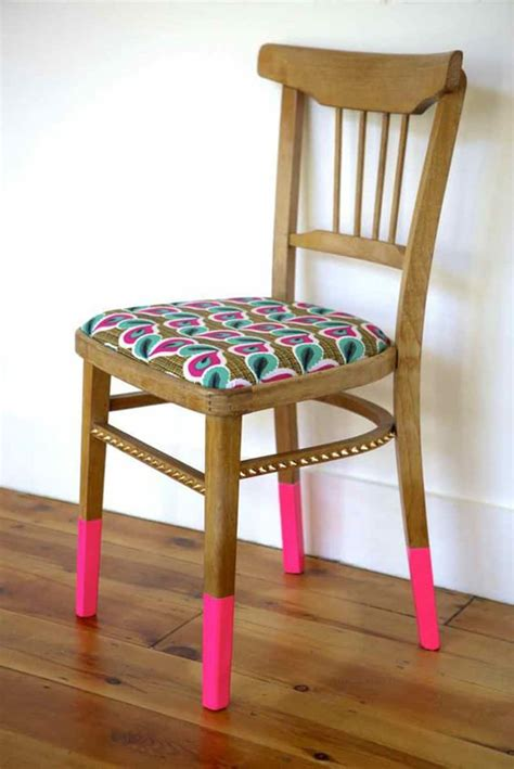 Take A Seat! 20 Diy Colorful Chair Projects Designrulz