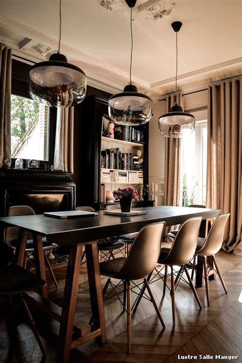 lustre salle manger with contemporain salle 192 manger d 233 coration de la maison et des id 233 es de