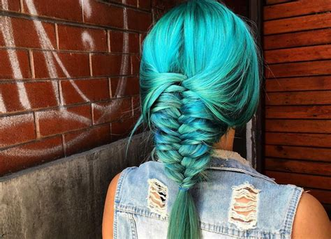 17 Photos Of Mermaid Hair That Will Make You Reach For The Hair Dye Images Of Hairstyles For Shoulder Length Hair Curly Square Faces Wedding Long With Veil And Tiara How Do You Know What Hairstyle Suits Guys Thin Wavy Cute Medium School No Heat Short Half Up Best