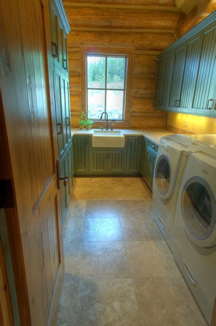 Spanish Peaks  Rustic  Laundry Room  Other  By Toadnwillow