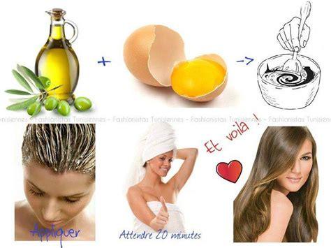 recette de masque pour cheveux fait maison