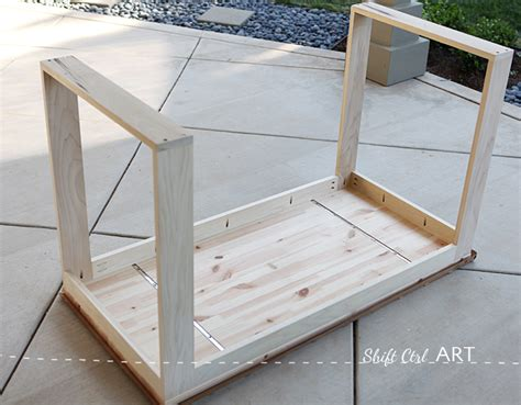 Ikea Hack How To Build A White Desk With A Miter Saw And