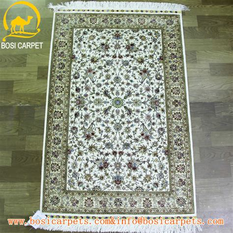 2 5x4ft vert couleur en soie iranienne tapis et tapis 224 la accueil textile tabriz tapis
