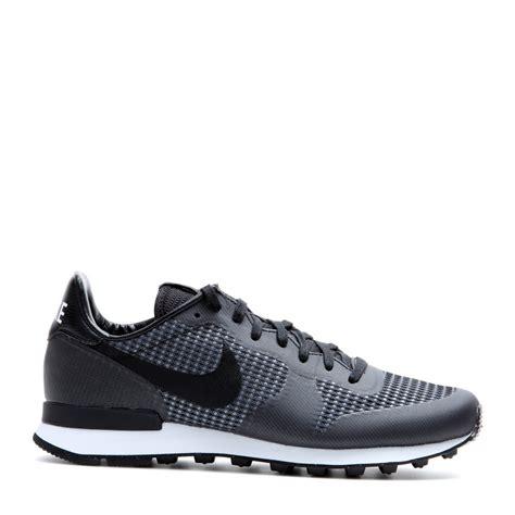 Lyst  Nike Internationalist Jacquard Sneakers in Black