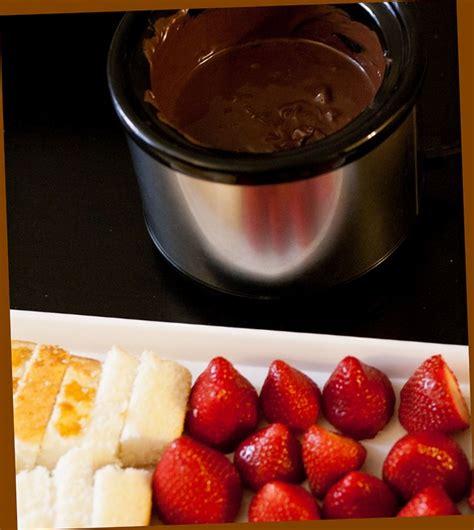 chocolate fondue recipe without
