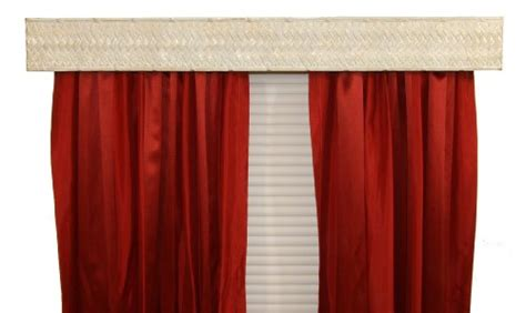 Bcl Drapery Hardware Wvaw Curtain Rod Valance, Weave On