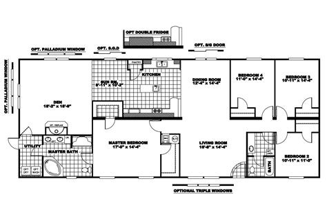 Clayton Mobile Home Floor Plans Photos by Manufactured Home Floor Plan 2008 Clayton Riverland