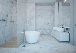 Badezimmer Weiß Grau : raumgestaltung ideen in grau 5 moderne appartements ~ Markanthonyermac.com Haus und Dekorationen