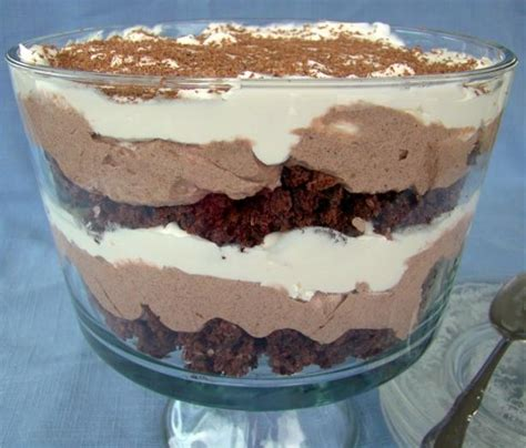 easy chocolate trifle recipes quotes