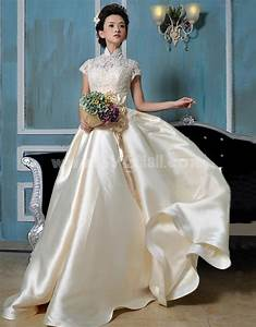 MTF Classic& Timeless Portait Lace A-line Ball Gown ...