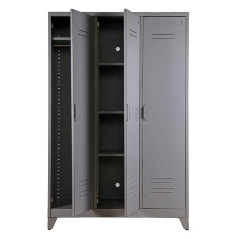 Metal Locker Cabinet By Idyll Home Notonthehighstreetcom