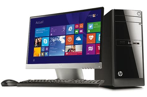 pc de bureau hp 110 522nfm 4088867 darty
