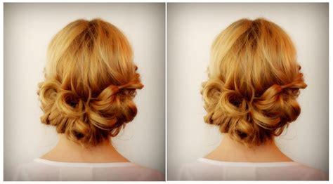 un chignon romantique facile 224 faire coiffure simple et facile