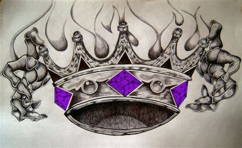 Free For Personal Use Crown Drawing Tattoo Of Your Choice