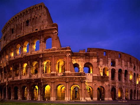 modern wonders of the world colosseum italy travel around the world vacation reviews