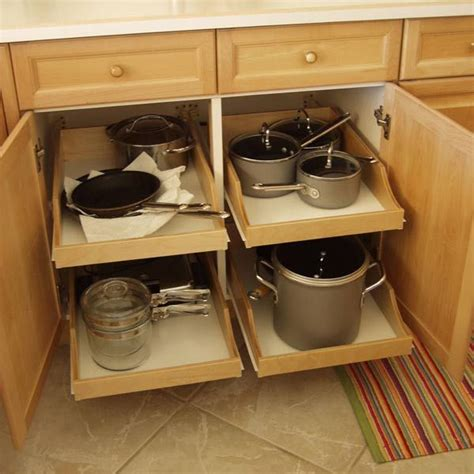 Kitchen Cabinet Organizers And Addons