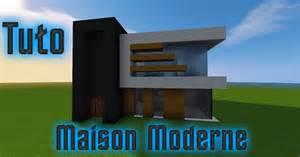 minecraft tuto maison moderne fr