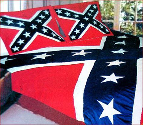 ruffin rebel flag quilt comforter civil war stuff