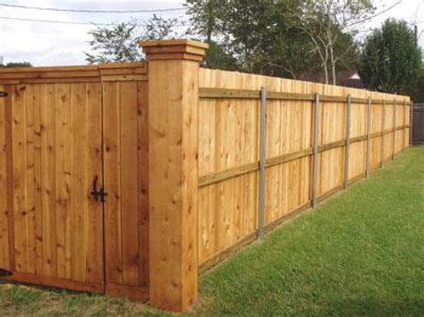 Fence - Gate : Decorative Garden Fence Panels, Wood Privacy Fence Gate