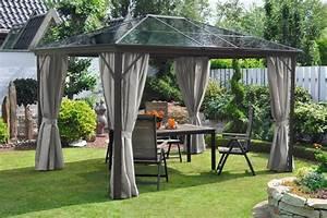 Dach Für Gartenpavillon : leco pavillon profi pavillon bxt 300 x 365 cm otto ~ Markanthonyermac.com Haus und Dekorationen