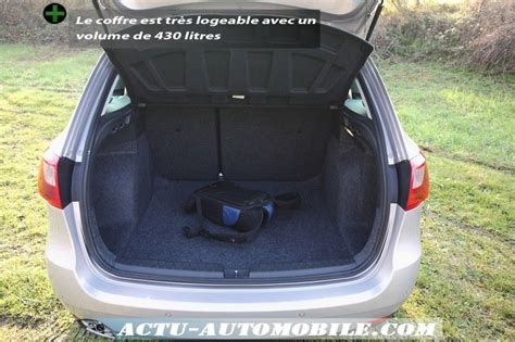 essai seat ibiza st 1 6 tdi 105 sport du volume actu automobile