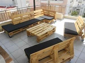 Paletten Möbel Garten : gartenm bel aus paletten selber bauen und den au enbereich ausstatten ~ Markanthonyermac.com Haus und Dekorationen