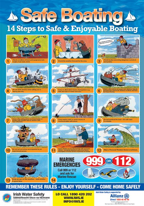 Boat Plug Safety by Water Safety Cartoons Lovetoknow