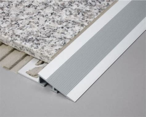 aluminium heavy duty r transition profile for tile