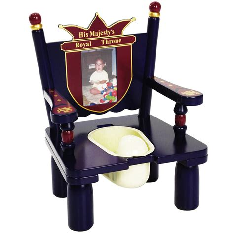 Potty Chairs For Toddlers by His Majesty S Throne Prince Wooden Potty Chair For Boys