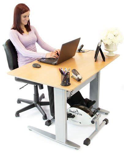 new deskcycle desk exercise bike pedal exerciser fitness white free shipping ebay