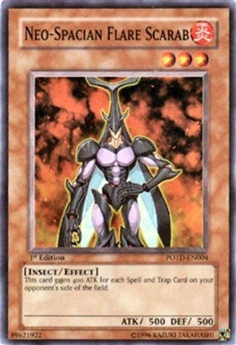 yu gi oh power of the duelist single neo spacian flare scarab da card world