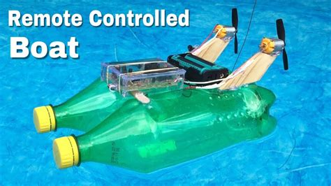 Toy Boat At Home by How To Make Rc Boat At Home Out Of Plastic Bottles