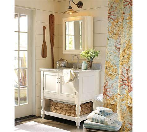 pottery barn bathroom cabinet bath pottery